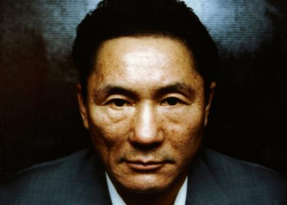 Takeshi Kitano stares into your soul