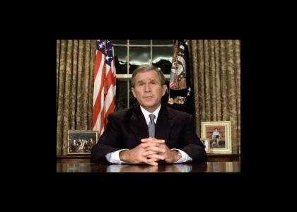 Bush Addresses the Nation