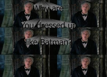And Bruce Wayne...
