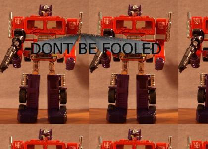 Ted Stevens Explains Optimus Prime
