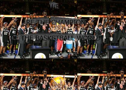 San Antonio Spurs: 2007 NBA Champions
