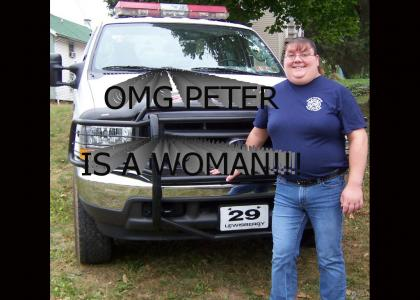 Peter Griffin is a woman