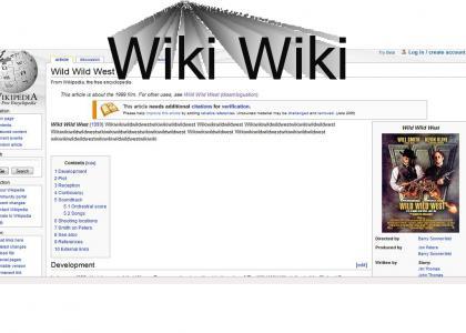 Wiki Wiki Wild Wild West