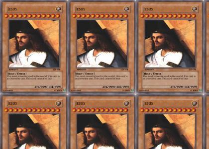 Jesus Yu-Gi-Oh Card
