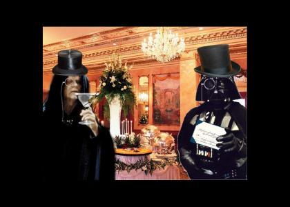 Lord Vader cordially invites you to his 6th annual dinner gala
