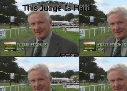 OMG, judge's secret tra-la-la!