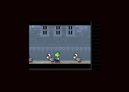 Luigi fails at thriller