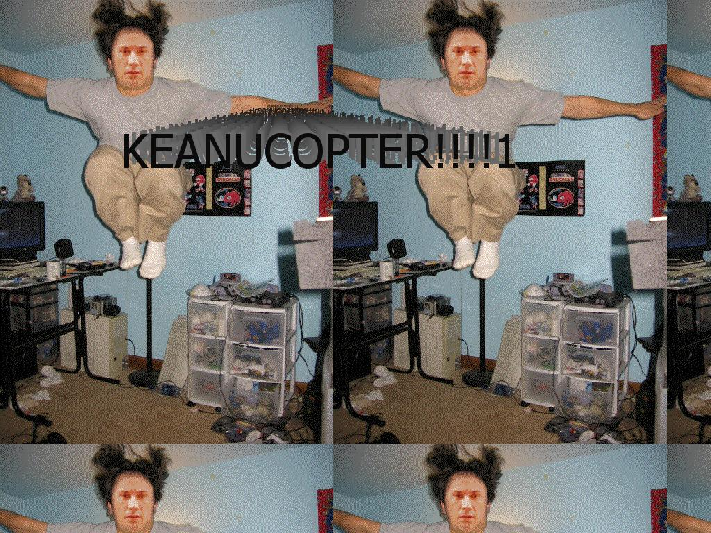 keanucopter