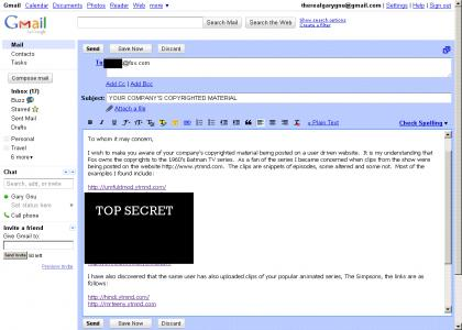 Umfuld asked me to make a site, so I sent this email to Fox about his sites.