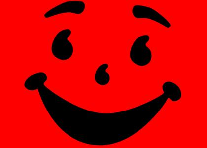 Kool Aid Man stares into your soul!