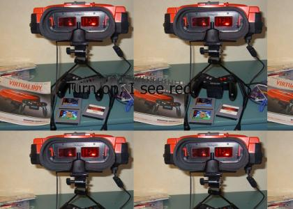 Metallica buys a Virtual Boy
