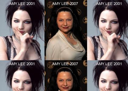 What the hell happened to Amy Lee?