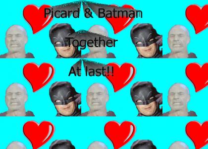 Picard & Batman: Friends at last!