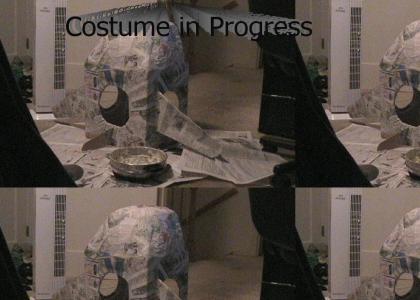 SnakesOnAPlane Costume in Progress