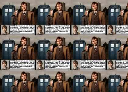 Doctor Who Safety not guaranteed.