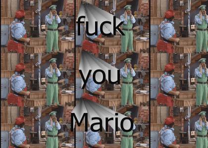 Luigi ignores Mario