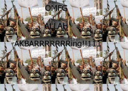 OMFG CRAZY FROG TERRORISTS!!!111