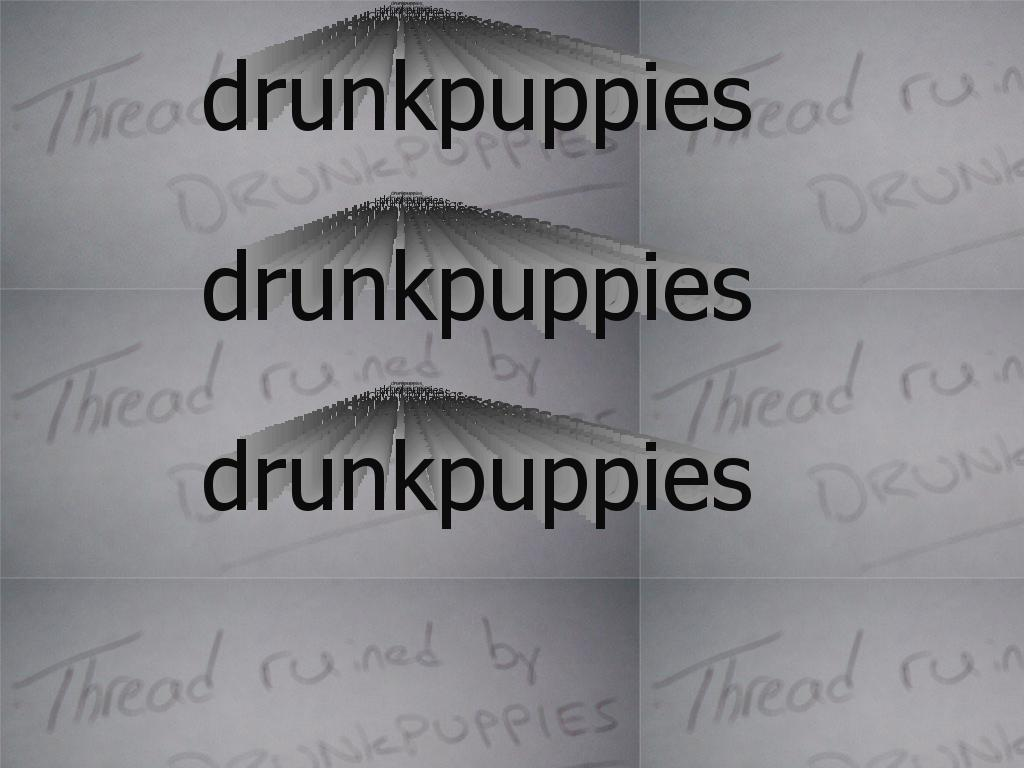 drunkpuppies