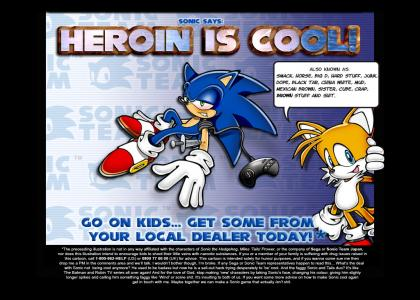 Sonic Gives The Kids Advice