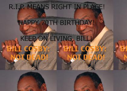 Bill Cosby, R.I.P. (1937-2007)