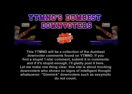 YTMND's Dumbest Downvoters