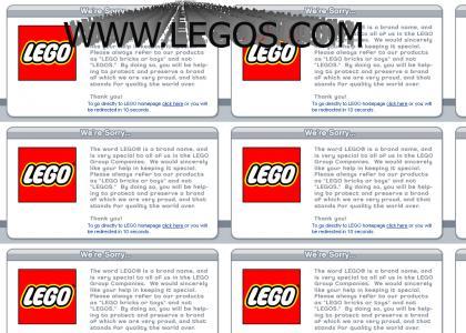 IT'S LEGO, NOT LEGOS - www.legos.com