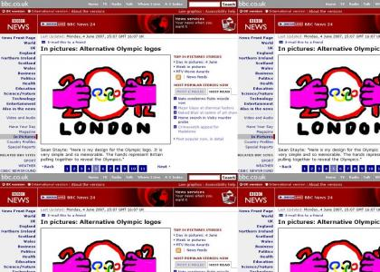 Alternative London Olympic Logo revealed