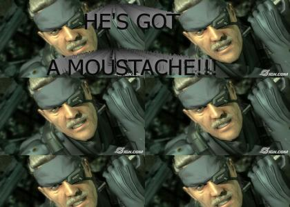 Metal Gear Solid 4 Moustache