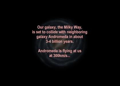Our galaxy is doomed