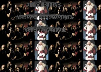 DragonForce Is Waiting For Santa