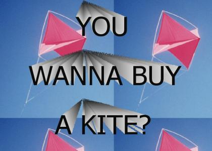 You wanna buy a kite?