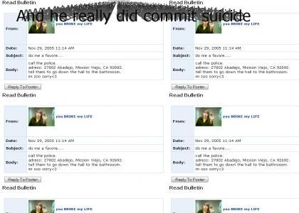 Myspace Suicide (Original/Unedited)