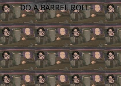 What is a barrel roll?