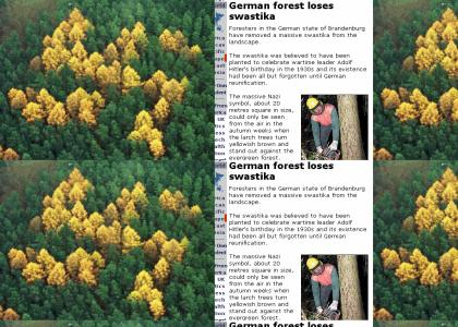 OMG, Secret Nazi Forest!!
