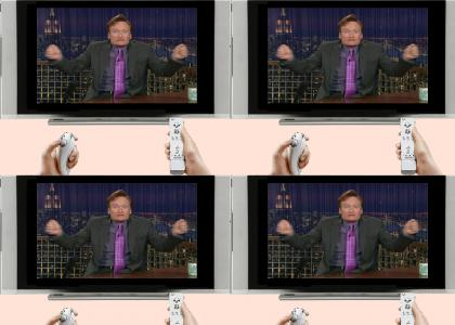 Conan for the Wii!