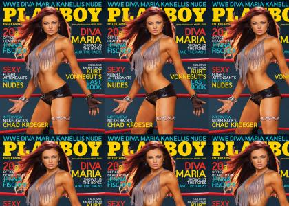 Maria kanellis playboy cover (with reaction)