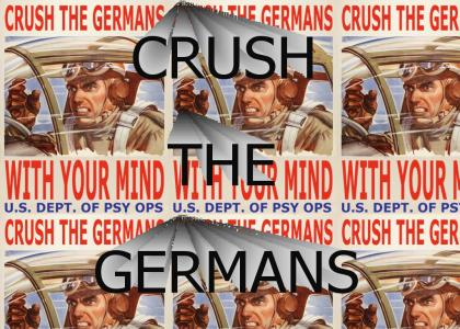 Crush the germans