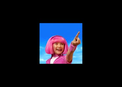 LazyTown - sweet irony and just desserts