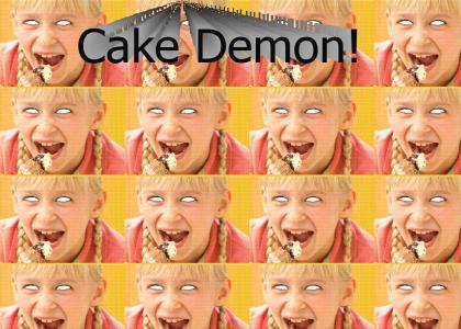 The Friendly's Cake Demon