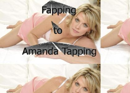 Fapping to Amanda Tapping