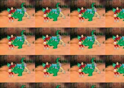 weired Devner the Dinosaur Orgy