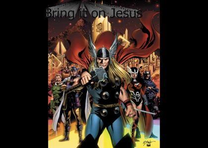 Thor vs Jesus