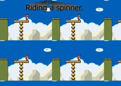 Mario Is Ridin' A Spinna