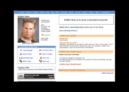 Myspace's Safety Not Guaranteed