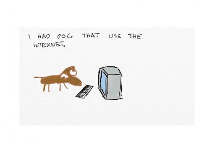 A Sad Internet Story About Internet Dog