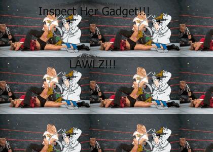 Gadget Inspecting The Ladies