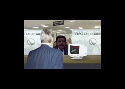 Frank McRae fails at the DMV