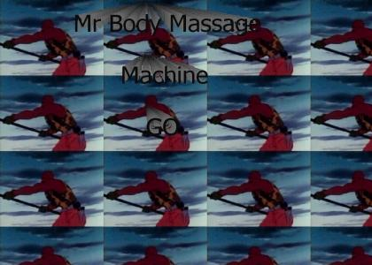 Mr Body Massage machine GO
