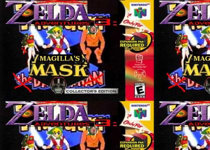 Zelda Adventures 3: The One With The Mask