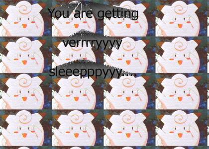 Clefairy puts you to sleep